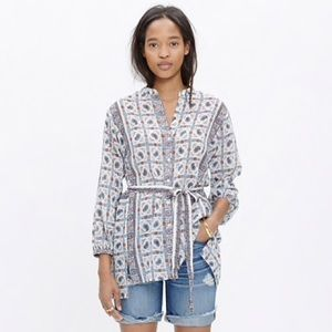 Beautiful paisley print top from Madewell!